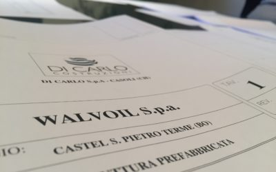 INIZIO LAVORI presso NUOVO STABILIMENTO WALVOIL S.p.A – Castel S. Pietro (BO)